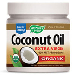 Organic Coconut Oil 32 oz by Nature's Way (2589138518101)