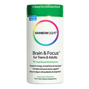 Brain & Focus Multivitamin 90 tabs by Rainbow Light (2587323170901)