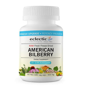 American Bilberry 120 vcaps by Eclectic Institute Inc (2589156999253)