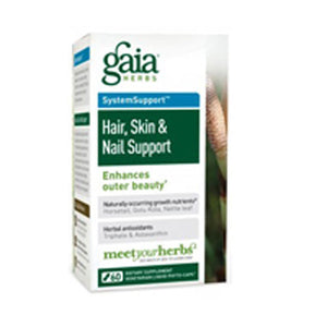 Hair Skin & Nail Support 60 caps by Gaia Herbs
