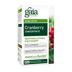 Cranberry Concentrate 60 caps by Gaia Herbs