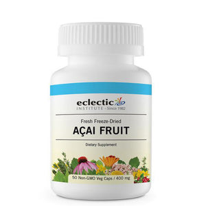 Acai Fruit 50 Caps by Eclectic Institute Inc