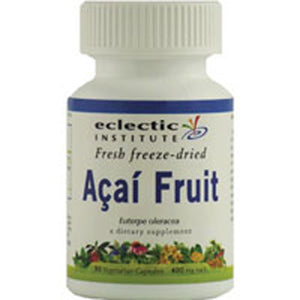 Acai Fruit 90 Caps by Eclectic Institute Inc