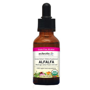 Alfalfa 1 Oz with Alcohol by Eclectic Institute Inc (2584036442197)