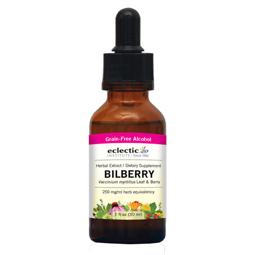 Bilberry 1 Oz with Alcohol by Eclectic Institute Inc