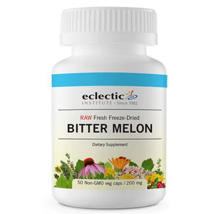 Bitter Melon 50 Caps by Eclectic Institute Inc (2584036900949)
