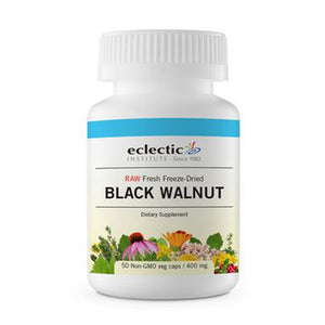 Black Walnut 50 Caps by Eclectic Institute Inc (2584037195861)