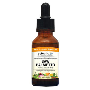 Saw Palmetto 1 Oz Alcohol free by Eclectic Institute Inc (2584239898709)
