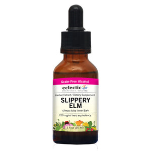 Slippery Elm 1 Oz with Alcohol by Eclectic Institute Inc (2584044208213)
