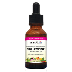 Squawvine 1 Oz with Alcohol by Eclectic Institute Inc (2584044240981)