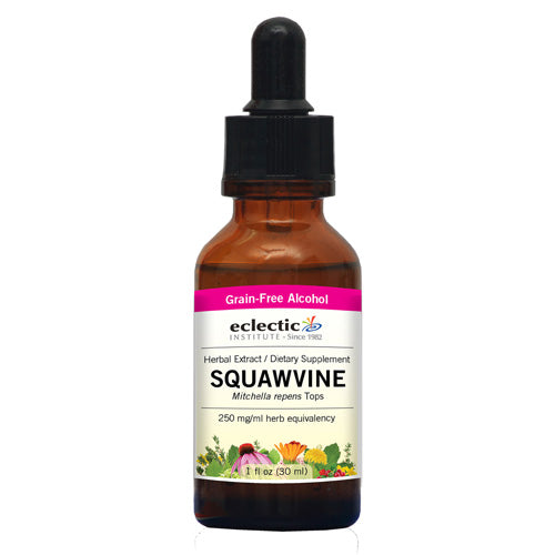 Squawvine 1 Oz with Alcohol by Eclectic Institute Inc