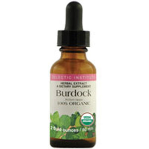 Burdock 2 Oz with Alcohol by Eclectic Institute Inc (2584037490773)