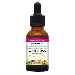 White Oak 1 Oz with Alcohol by Eclectic Institute Inc