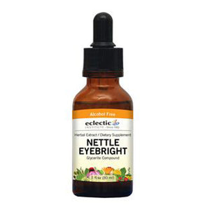Nettle Eyebright 1 Oz Alcohol free by Eclectic Institute Inc (2584042405973)