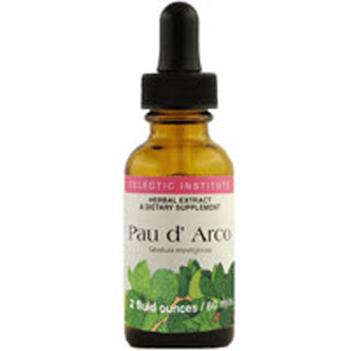 Pau D' Arco 2 Oz with Alcohol by Eclectic Institute Inc