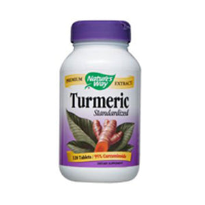 Turmeric Standardized Extract 120 Tabs by Nature's Way (2584116199509)
