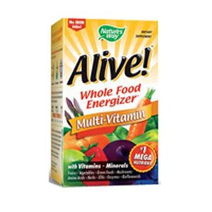 Alive Multi-Vitamin no Iron 90 Tabs by Nature's Way (2584035426389)