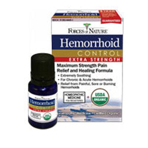 Hemorrhoid Control Extra Strength OG2 11 ML by Forces of Nature (2587936522325)