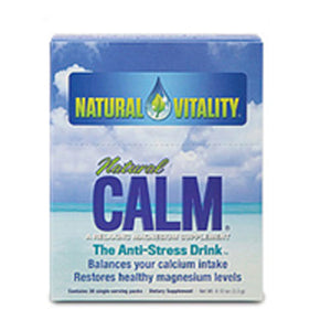 Natural Calm Regular,30 Pkts by Natural Vitality (2588918382677)