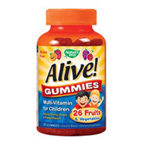 Alive Children's Multi-Vitamin Gummies 90 gummies by Nature's Way (2587412660309)