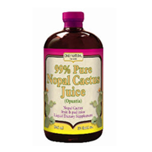 Nopal Cactus Juice 32 oz by Only Natural (2587963031637)