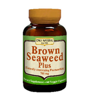 Brown Seaweed Plus 60 caps by Only Natural