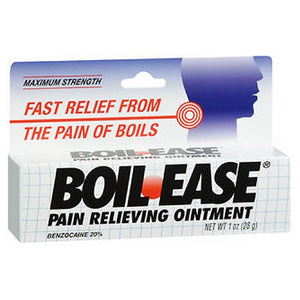 Boil-Ease Pain Relieving Ointment Maximum Strength 1 oz by Boil-Ease (4753942675541)