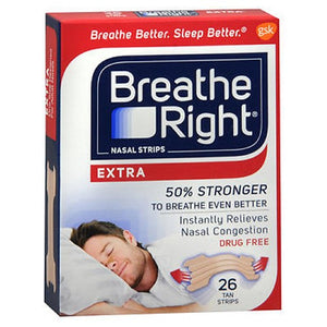Breathe Right Nasal Strips Extra 26 each by The Honest Company (4753943134293)
