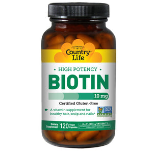 Biotin 120 CAPS by Country Life