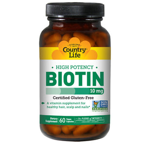 Biotin 60 Caps by Country Life