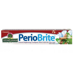 Perio Brite Toothpaste Cinnamint 4 OZ by Nature's Answer (2587606777941)
