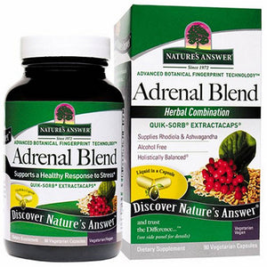 Adrenal Blend 90 Veg Caps by Nature's Answer
