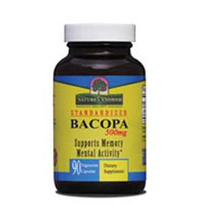 Bacopa 500mg 90 vcaps by Nature's Answer