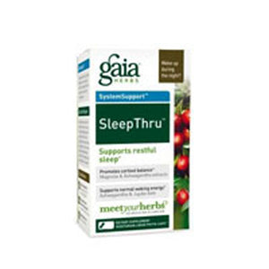 Sleep Thru 30 CAPS by Gaia Herbs (2588117139541)