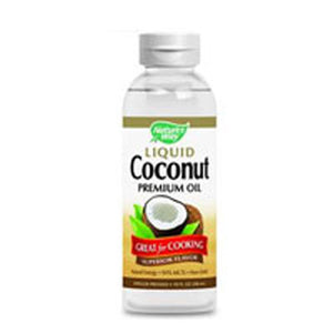 Liquid Coconut Premium Oil 10 fl Oz by Nature's Way