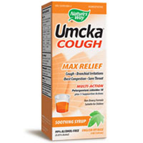 Umcka Cough English Ivy Base 4 oz by Nature's Way