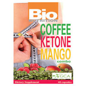 Coffee Ketone Capsules Mango 60 vcaps by Bio Nutrition Inc (2588148662357)