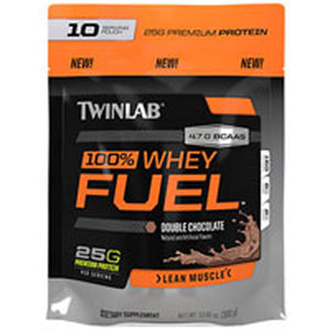 100% Whey Fuel Double Chocolate 5 lb by Twinlab (2588149514325)