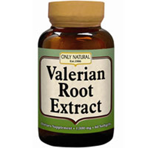Valerian Root 60 Soft gels by Only Natural