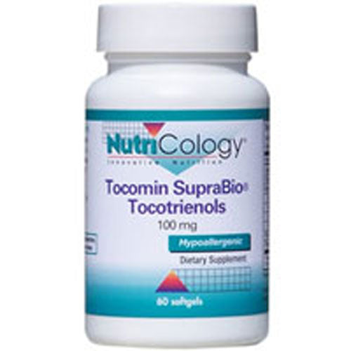 Tocomin SupraBio Toctrienols 120 Soft gels by Nutricology/ Allergy Research Group