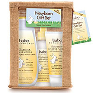 Newborn Gift Set 1 Set by Babo Botanicals (2588156133461)
