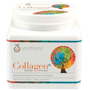 Collagen Powder Vanilla 21 Packets by Youtheory (2590293885013)