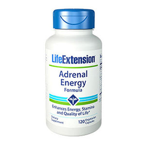 Adrenal Energy Formula 120 Veg Caps by Life Extension