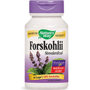 Forskohlii Standardized 60 Vcaps by Nature's Way (2588171960405)