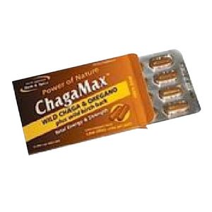 ChagaMax Convenience Pack 12 Caps by North American Herb & Spice
