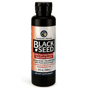 Egyptian Black Seed Oil 8 oz by Amazing Herbs (2588185526357)
