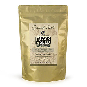 Black Seed Ground 16 oz by Amazing Herbs (2590118936661)