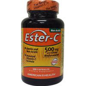 Ester-c With Citrus Bioflavonoids 120 Vegicaps by American Health (2584196251733)