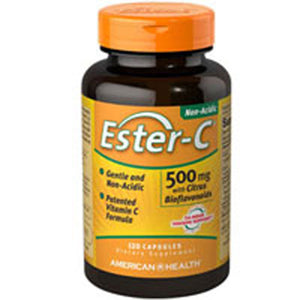 Ester-C with Citrus Bioflavonoids 120 Caps by American Health (2590137385045)