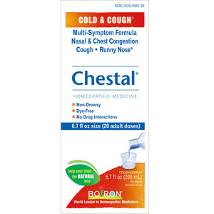 Chestal Adult Cold & Cough 6.7 Oz by Boiron (2588209315925)